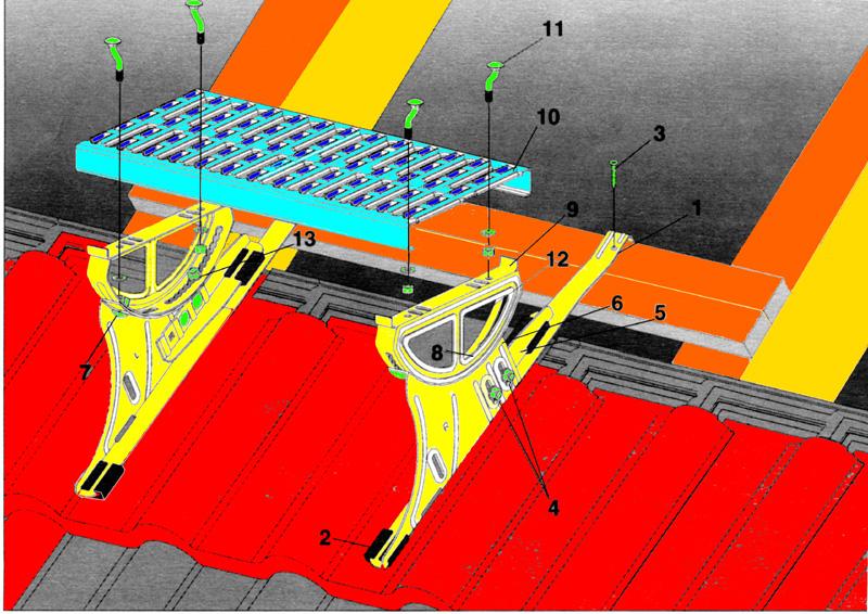 Echafaudages page 2 pour les taquets de toit dans le catalogue des vraies chelles et - Location echelle de toit ...